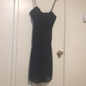 Black event dress